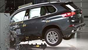 豪华SUV结不结实?宝马X5碰撞测试出炉