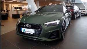 精致与动感的完美结合,全新奥迪A5 Sportback到店实拍