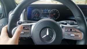 奔驰G500方向盘控制