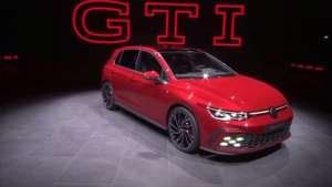 GTI、途锐R发布,日内瓦车展大众发布会现场