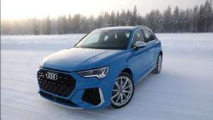 强劲性能比肩超跑,雪地试驾奥迪RS Q3!
