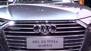 2020款奥迪A6L上市,配置升级,动力依旧,官方起售价40.98万元