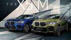 就一个字:帅!全新宝马X5M、X6M正式上市