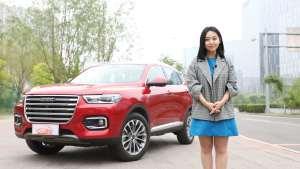 美女品车丨要说中国SUV谁最6,当属哈弗H6我最6