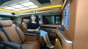 奔驰v260 改装商务车:格局漂亮不说,隔断后私密性也不错?