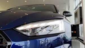 实拍新款奥迪S5 Coupe!最帅家轿看样子要易主了!