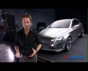 2012北京车展 奔驰A级概念款轿车