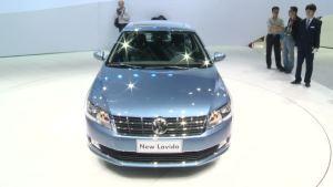 视频看车展 全新一代朗逸全球首发