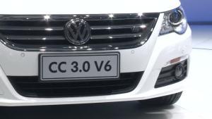 视频看车展 一汽大众CC V6全新登场