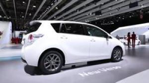 2012巴黎车展 改款丰田逸致发布