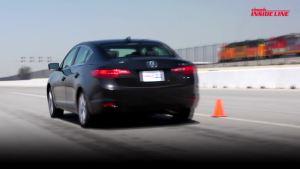 新车首测 2013款讴歌ILX 2.4L动力展示