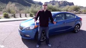 海外版K3 外媒试驾2014款起亚福瑞迪