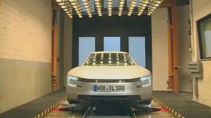 超级节能的汽车 大众XL1高强度测试