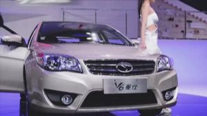 东南汽车携精英车型V6菱仕亮相上海车展