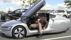 世界超节能车 试驾2014款大众XL1