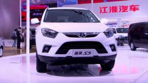 2012广州车展 紧凑级SUV典范江淮瑞风S5