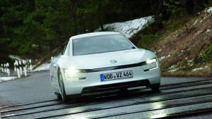 百公里油耗仅0.9L 大众XL1超节能车