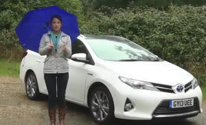美女试驾 欧版丰田卡罗拉运动旅行车