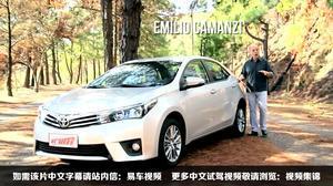 2015款丰田卡罗拉 外媒专业试驾