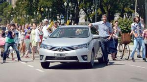 丰田全新卡罗拉 紧凑级家轿超凡魅力