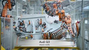 奥迪中国长春工厂探秘 看豪车生产过程