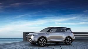 双龙XLV概念车 搭载全新混合动力系统