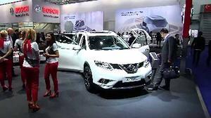 2015法兰克福车展 日产展台新车云集
