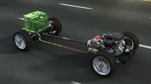 凯迪拉克CT6 插电式混合动力快速充电