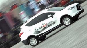 江淮瑞风SUV超级体验营 家族花式炫技