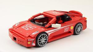 积木组装赛车 法拉利F430 Challenge