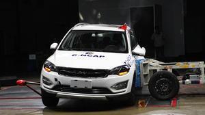 C-NCAP碰撞测试 大迈X5手动尊享获5星