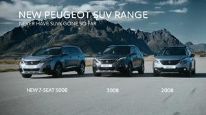 全新标致5008领衔 SUV家族宣传
