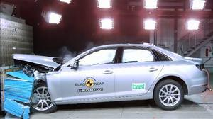 E-NCAP碰撞测试 奥迪A4/A5获五星