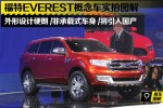 有望引入国产 福特Everest概念车实拍图解