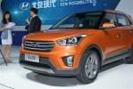 北京现代ix25量产版于成都车展正式发布