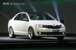 斯柯达新紧凑轿车定名Rapid 2013年国产