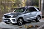 2012款奔驰ML展车到店 89.9万起售