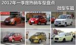 2012年一季度热销车型盘点 微型车篇