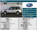 C-NCAP碰撞 斯巴鲁森林人以47.7分获五星