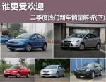 谁更受欢迎 二季度热门新车销量解析(下)