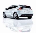 全球首款混合动力轿跑车Honda CR-Z上市
