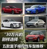 30万元的别样选择 富于操控性车型推荐