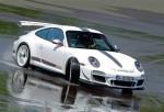 白色闪电 赛道测试保时捷911 GT3 RS