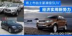 将上市自主紧凑SUV前瞻 经济实用新势力