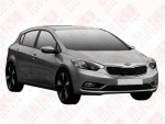 起亚K3两厢版申报图曝光 或北京车展首发