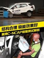 长安福特翼搏C-NCAP碰撞测试解析