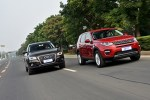 英德SUV对决 发现神行/GLC/Q5对比动态篇