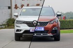 科雷傲对比4008 新出炉国产法式SUV对决
