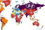 丰田获搜索量最多品牌 宝马现代排2、3名