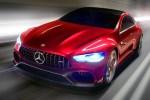 奔驰AMG GT Concept曝光 进击的四门超跑